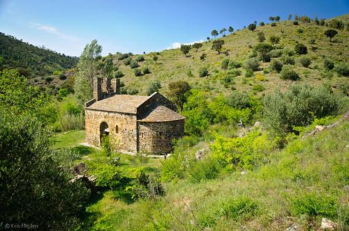 La Ermita de San Silvestre en su entorno precioso