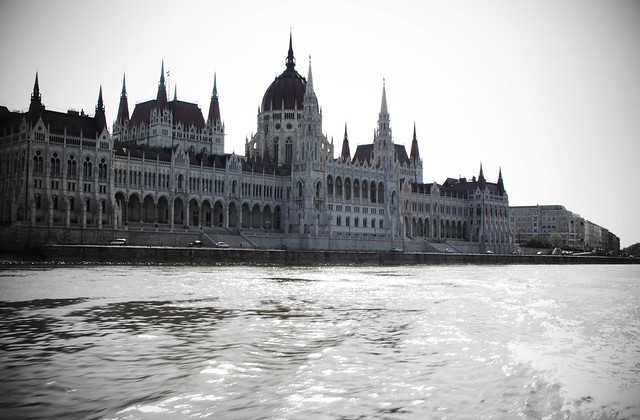 Parliament from the River Danube