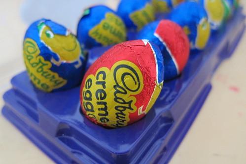 Cadbury Egg: