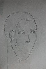 (Leslie A. Bacon Photography) Tags: people portraits eyes sketches cartoons graphite humanfigure lesliebacon