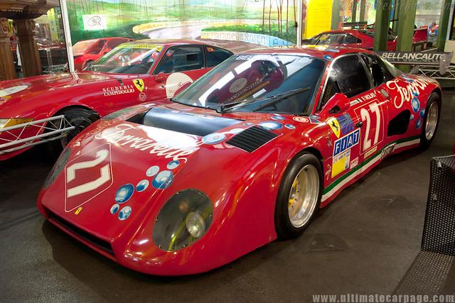 Ferrari 512 BBLM Ferrarelle_Museu Maranello Rosso