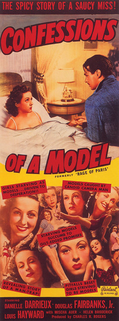 153-Confessions-of-a-Model by Mofo Posters