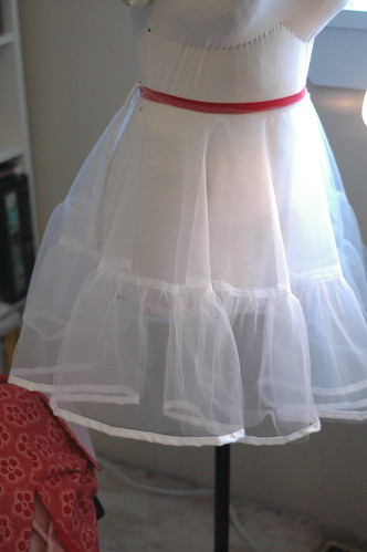 Crinoline in progress