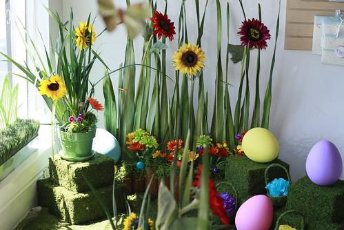 Easter Egg Corner
