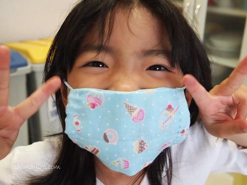 子供用マスクの作り方(薄手)