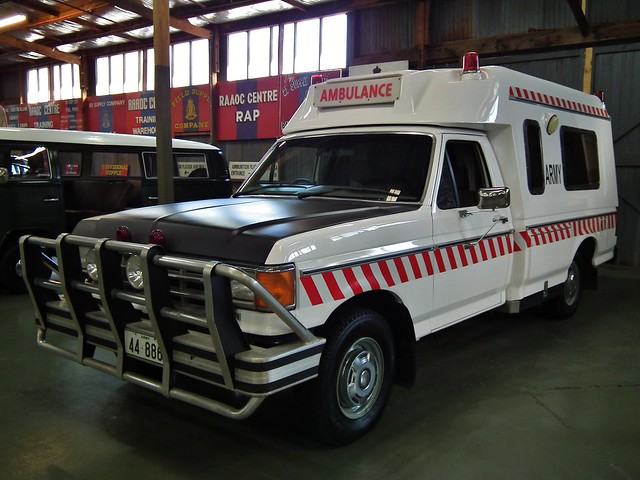 history ford museum army australian australia victoria ambulance 1989 industries unit f250 jakab bandiana