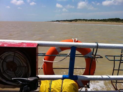Barcaza en el Guadalquivir