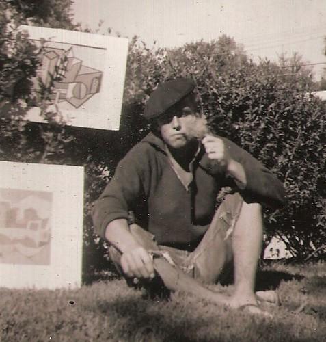 BEATNIK BOB 1958 by roberthuffstutter