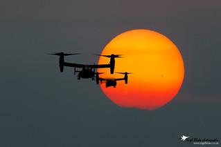Boeing CV-22B Ospreys