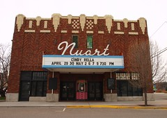 Nuart Theatre (Phydeaux460) Tags: old signs sign vintage neon tubes idaho signage glowing blackfootidaho olympuse30