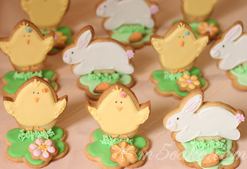 easter bunnies and chicks. Easter Bunnies and Chicks 5
