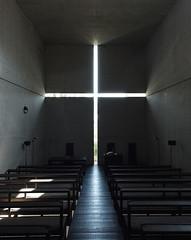 CHURCH OF THE LIGHT: Tadao Ando, Osaka, Apr. 1989 (wakiiii) Tags: architecture 光之教會 iglesiadelaluz églisedelalumière