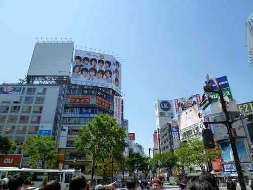 渋谷交差点前