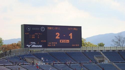 2011/04 J2第8節 京都vs岡山