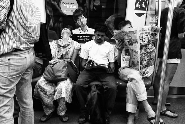 Scene in the MRT