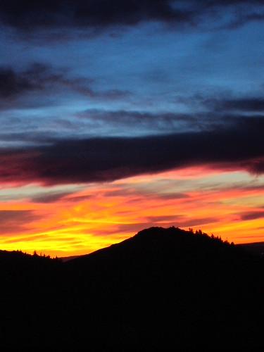Lake Arrowhead Sunset-3