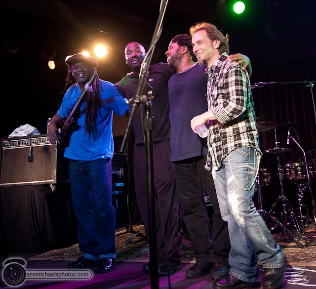 Victor Wooten at Belly Up 41811 © Michael Klayman-065