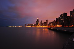 A Phosphorescent Night... (Seth Oliver Photographic Art) Tags: chicago reflections illinois nikon midwest nightimages nightlights cityscapes lakemichigan lakeshoredrive navypier nightshots trumptower pinoy downtownchicago johnhancockbuilding cookcounty nightscapes chicagoskyline urbanscapes secondcity northavenuebeach citiesatnight longexposures thedrakehotel chicagoist goldcoastneighborhood d90 nightexposures 10secondexposure wetreflections cityofchicago cityofbigshoulders sooc moderncities chicagoskylineatnight manualmodeexposure lakefronttrails setholiver1 aperturef220 nocturneimages 1024mmtamronuwalens ballheadtripodmountedshot timedelaytriggeredshot phosphorescentskies