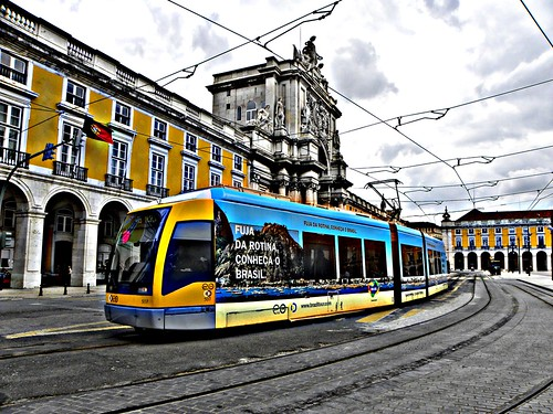 Lisbon new trams