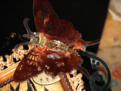 Alarm Clock Steampunk Collage 027