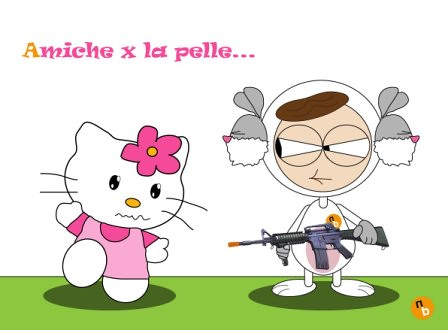 NorisBunny - Hello Kitty - Amiche per la pelle by NorisBunny