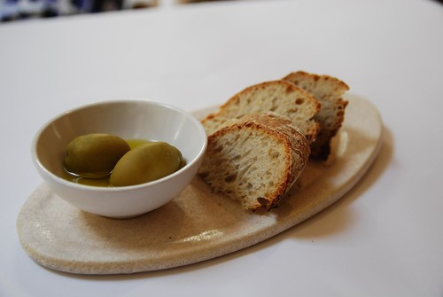 Fresh bread, olives, olive oil - Tea Roo by avlxyz, on Flickr