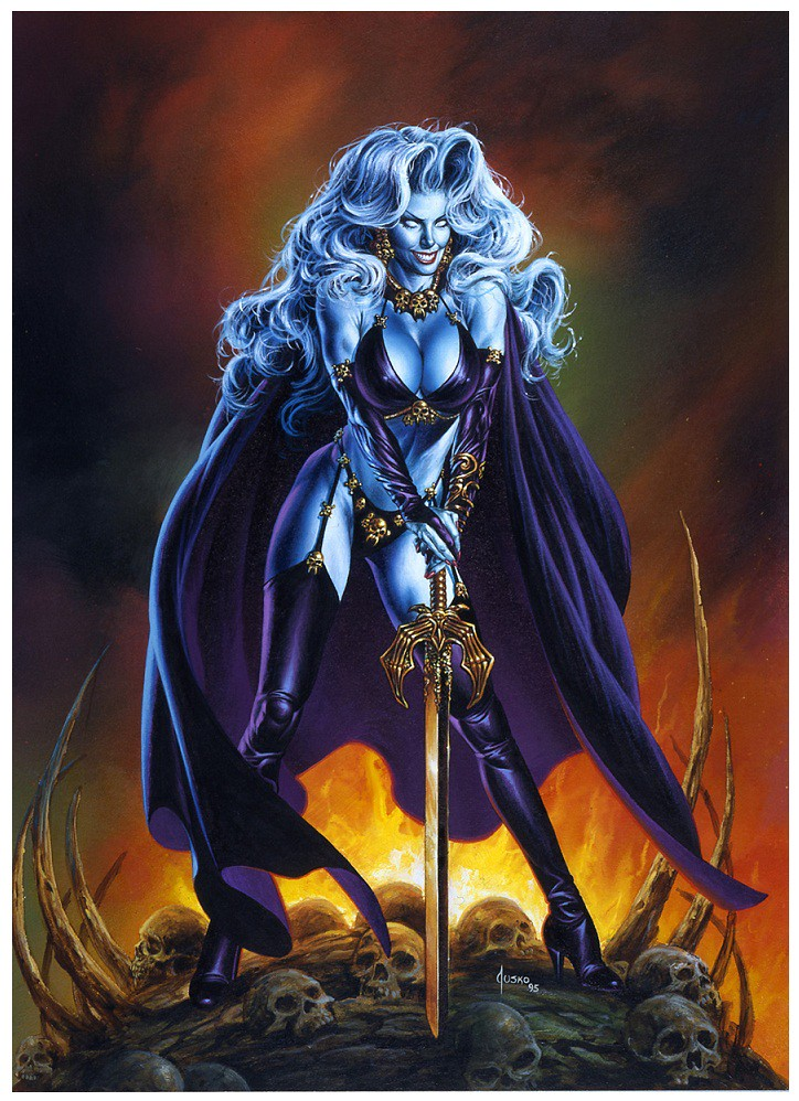 17Lady Death Joe Jusko