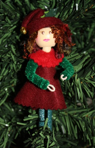 "Elf ""Pin Up"" Doll"