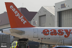 HB-JZW - 2729 - Easyjet - Airbus A319-111 - Luton - 110322 - Steven Gray - IMG_1120