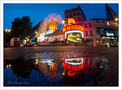 "358/365  ""Moulin rouge puddle"" (Eloy RICARDEZ LUNA) Tags: longexposure reflection windmill night puddle noche reflet reflejo getty bluehour 365 moulinrouge nuit nightpicture flaque pigalle charco largaexposicin longueexposition molinodeviento largaexposicion moulinvent placeblanche heurebleue photodenuit horaazul fotodenoche gettyimagesfranceq1 9289385947c4443593664b8483021c74"