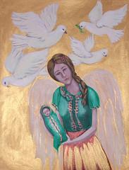 Indian Angel--Veronica Gledhill (WCA Philadelphia Featured Artist) Tags: art philadelphia veronica wca gledhill womenscaucus womenscaucusforart