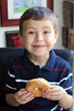 Donut Happiness (Sam Howzit) Tags: eating donuts athan april30 2011 dayofthedonut