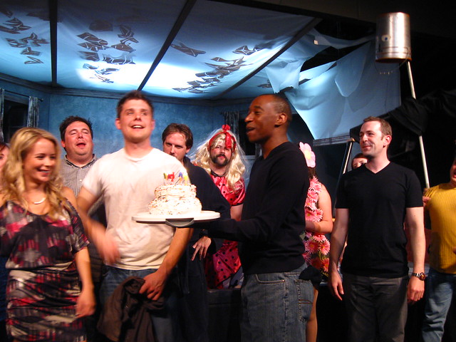 Curtain Call (and birthday cake for Carrie Wiita and Colin Willkie!)
