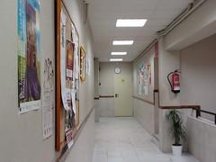 Uno de los pasillos de las instalaciones del PCPI.