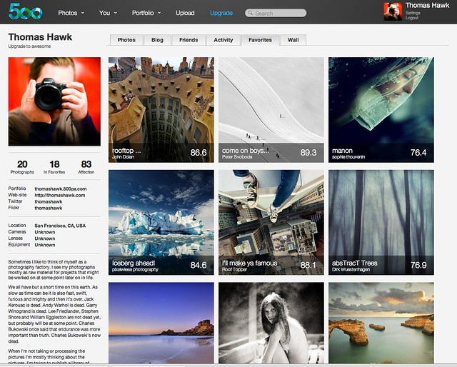 Top Five 500px Vs Flickr 2018 - Circus