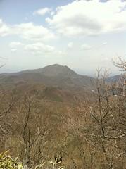 鼻曲山から浅間隠山