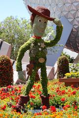 Sheriff Woody Topiary