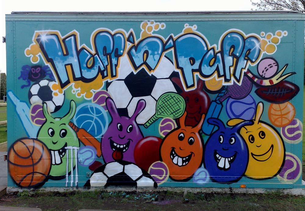 The world 39 s best photos by sweetart murals flickr hive mind for Mural for school