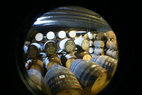 Maturing Whisky at Highland Park