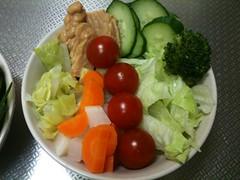 朝食サラダ(2011/5/6)