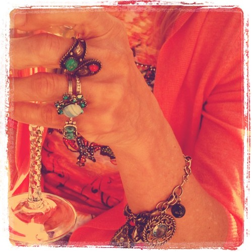 My mom's rings and bracelet