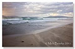 Cross beach Co. Mayo Ireland. (Mick Bourke.) Tags: ireland sky mist seascape beach clouds evening surf waves wind windy blowing mayo westcoast blowingsand louisburgh sigma1020 canon60d crossbeach theinspirationgroup