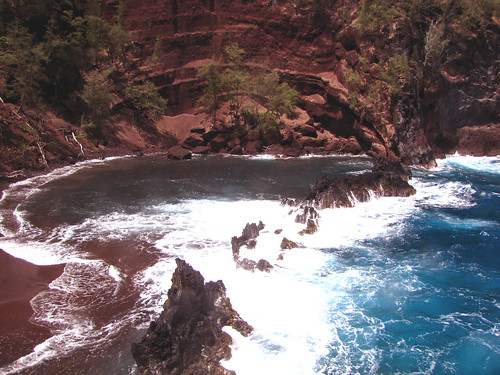 Red Sand Beach, Hana, Maui (2)