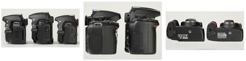 Nikon D5100 vs Nikon D3100 vs Nikon D5000 -- Side-by-Side Photos