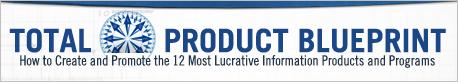 ブレンドン・バーチャード(Brendon Burchard)の『トータル・プロダクト・ブループリント』(Total Product Blueprint)のロゴ画像