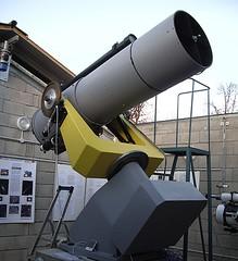Il telescopio da 50 cm appena istallato
