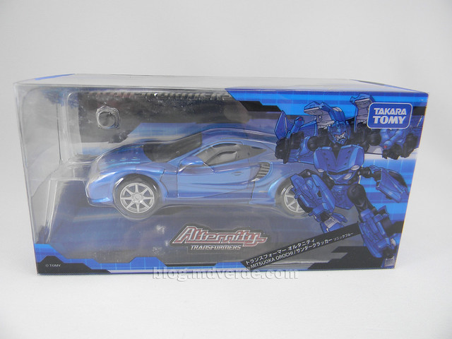 Transformers Thundercracker Alternity - empaque