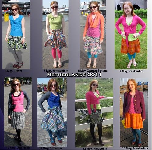 Netherlands 2011 Wardrobe