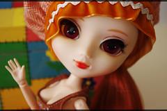 Valentina (Aeris19) Tags: white doll eyelashes wig l pullip valentina sbh obitsu rewigged stica