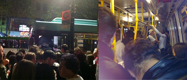POTD: Nightrider overcrowding